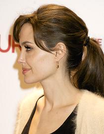 Pferdeschwanz, Angelina Jolie