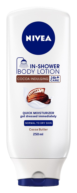 NIVEA Lapte de corp sub dus cu extract de Cacao 250ml