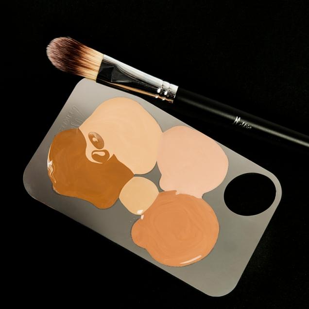 Paleta inox pentru mixare culori MELKIOR 59,90lei (1)