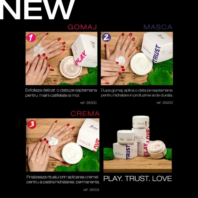 play, trust, love